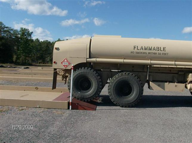 Ramp with Tanker