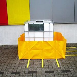 IBC Tote Portable Spill Containment Berm